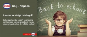 Back to school - cora cluj- mic